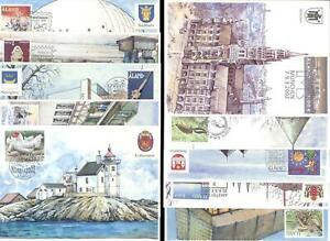 ALAND 2002 Ausstellungskarten/Exhibition Cards komplett