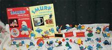 Huge Vintage Lot of 174 TOYS Smurfs Figures SMURFETTES PAPA SMURF BOOKS PRICE !!