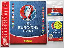 Panini EURO 2016 - Set 24 Sticker Coca Cola + 84 Updates + Album Hardcover