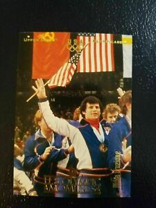 Mike Eruzione USA Captain #69 1996 UD Upper Deck Olympic Card USA Gold Champions