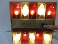 Jingles & Joy Red White BATTERY OPERATED Christmas String Lights Valentines