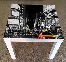 Nueva York Pegatina de vinilo adecuado para tabla/Mesa de centro de Ikea falta lk1