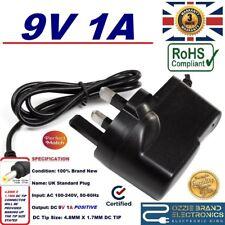 3rd Parti Sega Mega Drive II (2) - 9 V 1 A UK Plug Alimentation Secteur Adaptateur AC