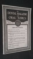 I Dental Rivista E Oral Topics Vol. 65 N°4 August 1948 Be