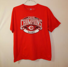 Cincinnati Reds 2010 NL Central Division Champions MLB Baseball T Shirt Size XL