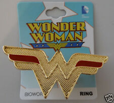 Wonder Woman Logo Dc Comics Ring Size 8  Nwt
