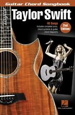 TAYLOR SWIFT - Guitar Chord Songbook 2nd Edition *NEW* Lyrics & Chords 40 Songs