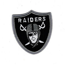 "3"" Oakland Raiders patch Embroidered Iron Or Sew On patches Free US Shipping"