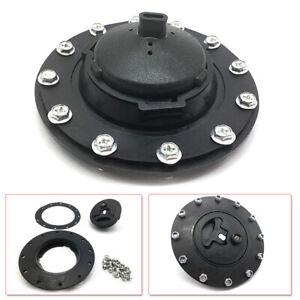 Plastic Water Tank Fuel Tank Filler Cap Twist Cap +Filler Plate+Fittings Black