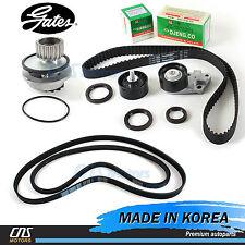 "Gates ""HTD"" Timing Belt w/ V-Belt Water Pump Kit 99-02 Daewoo Lanos 1.6L DOHC"