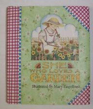 She Who Loves a Garden Illustrated by Mary Engelbreit 1993 Book Andrews McMeel