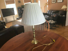WILLIAMSBURG STYLE VIRGINIA METALCRAFTERS BRASS COLONIAL LAMP  tall