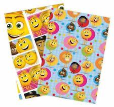 (1,00€/m) 5 Rollen Geschenkpapier 200x70cm Emoji der Film