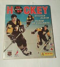 hockey 88 panini  sticker album - mario lemieux cover