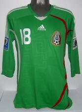 ADIDAS MEXICO WC2010 QUALIFIERS GUARDADO HOME L ORIGINAL JERSEY SHIRT