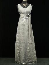 Cherlone Grey Wedding/Evening Gown Sparkle Prom Bridesmaid Formal Dress 12-14