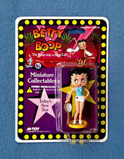 BETTY BOOP TENNIS PLAYER MINIATURE COLLECTIBLES FIGURE TODAY'S NEW STAR M- TOY