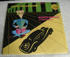 "Steve Miller Band Bongo Bongo 12"" Single Record 1985 Extended Club Mix NM"