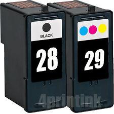 2 Pack #28 (18C1528) #29 (18C1529) Ink Combo Fits Lexmark Z845 Z1300 Z1310 Z1320