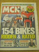 MCN - MOTORCYCLE NEWS - COPS GET TOUGH - 17 March 2004