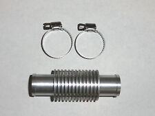 Made In USA Silver Inline Radiator Water Cooler Kfx Dvx z 400 quadsport