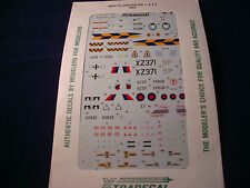 XTRADECAL DECAL JAGUAR GR.1 & T2 1991 X026-72 1:72