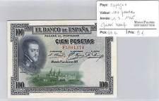 BILLET ESPAGNE - 100 PESETAS 1-7-1925 - QUASI NEUF!!!!