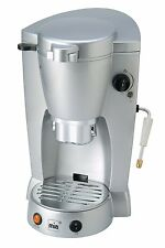 Kaffeepad Automat defekt Kaffeeautomat Kaffeemaschine Padautomat silber