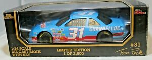 Racing Champions 1:24 1994 Diecast Car BANK #31 Tom Peck Channellock Chevrolet