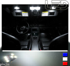 AUDI A4 B7 Kit 16 Light bulbs White LED Floor Carpet ceiling Mirrors Doors Trunk
