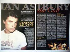 COUPURE DE PRESSE-CLIPPING :  IAN ASTBURY [2pages]01/2001 Interview,Cult,Solo