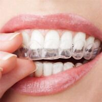 New Orthodontic Retainer Fixed Corrector Teeth Retainers 2 Pairs Thermoforming