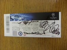 08/04/2014 AUTOGRAFATO Biglietto: Chelsea V Paris Saint-Germain Champions League []