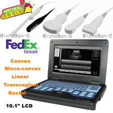 Humanvet Ultrasound Scanner Portable Laptop Machine Digital Probe Factory Sale