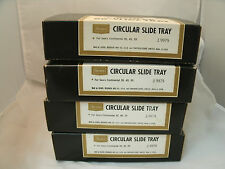 Vintage Sears #9979 Lot of 4-80 Slide Circular Tray Continental Mint In Box EC