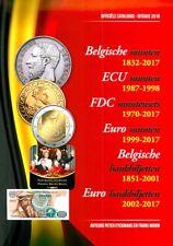 Officiële catalogus Belgische munten en Bankbiljetten, Morin editie 2018 (AC1)