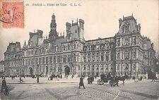 BR78290 paris hotel de ville chariot  france