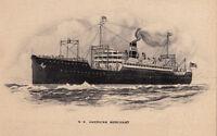 Postcard Ship SS American Merchant