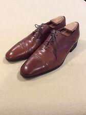 Men's a testoni dress shoes. Light brown, size 10.5