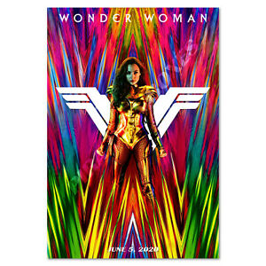 Wonder Woman 1984 Poster - Official Art - High Quality Prints