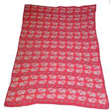 Wool Blend Girl Knitted Nursery Blankets & Throws