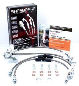 FPV BA Super Pursuit Ute (BREMBO 6-pot/4-pot) 03-05 -SAFEBRAKE Performance Hoses