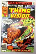 THE THING AND THE VISION COMIC MARVEL 2 IN 1 ISSUE # 39 IN GREAT CONDITION **