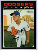 Julio Urias 2020 Topps Heritage 5x7 #469 /49 Dodgers