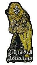 More details for jethro tull - aqualung - die cut woven patch rare anderson prog rock aufnäher