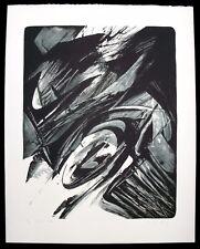 K. O. Götz. sign. Lithographie, 1991. signiert Karl Otto Götz informel