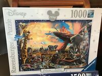 RAVENSBURGER 1000 PIECE JIGSAW PUZZLE 1994 THE LION KING NEW SEALED