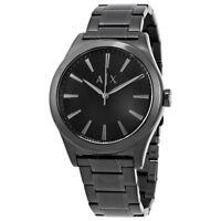 Armani Exchange Gents Black Stainless Steel AX2322 Mens Dress Watch