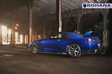 20x9 +22 20x11 +28 Rohana RC7 5x114 Matte Graphite Wheel Fit Nissan Gtr R35 2012