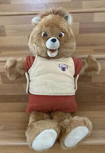 Vintage Teddy Ruxpin 1985 Bear / Tested / Please Read